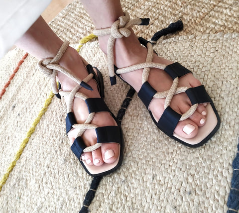 Caipirinha Sandals Black