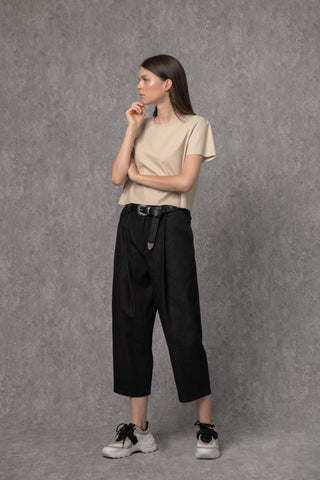 Ross Pants Black Denim - pants- arpyes