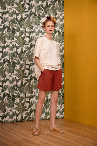 Gale Shorts Terracotta - Shorts- arpyes