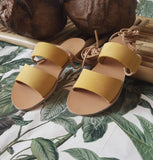 Toucan Yellow - sandals- arpyes