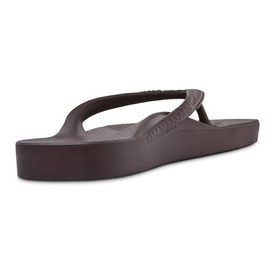 Brown - Arch Support Thongs