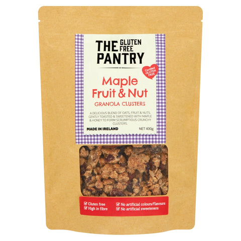 The Gluten Free Pantry Maple Fruit and Nut Granola Clusters 400g