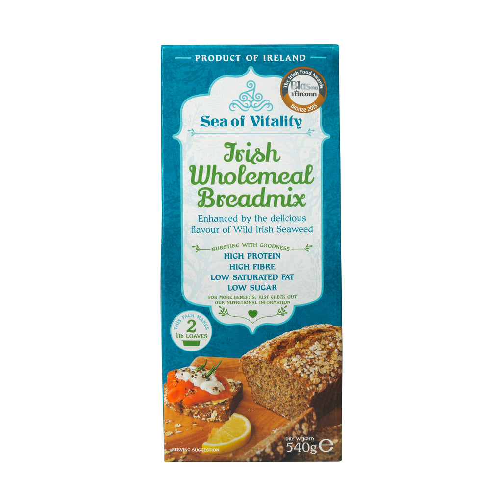 Sea Of Vitality Irish Wholemeal Breadmix 540g