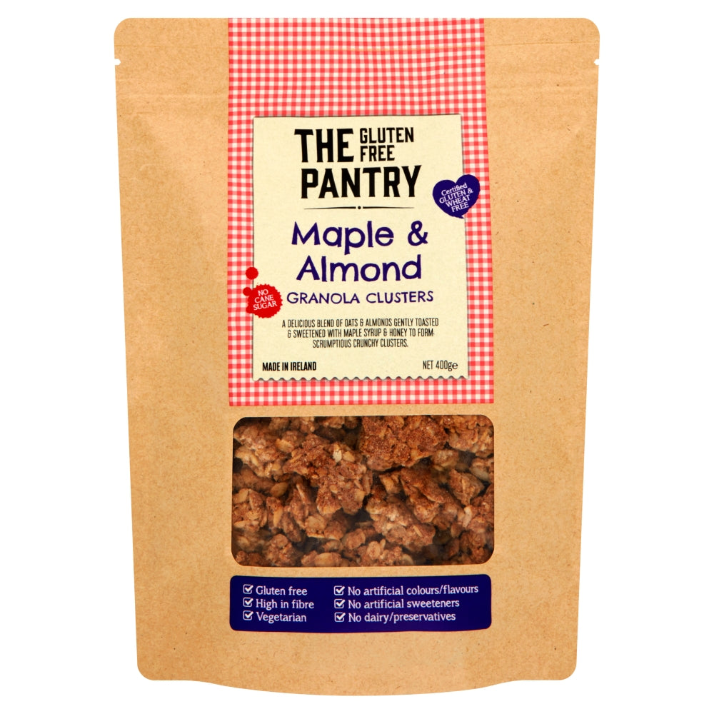 The Gluten Free Pantry Maple And Almond Granola Clusters 400g The Castle Pantry