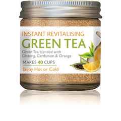 Naturespharm Revitalising Green tea with ginseng extract, organic cardamom and natural orange flavour 25g