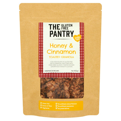 The Gluten Free Pantry Honey and Cinnamon Granola Clusters 400g