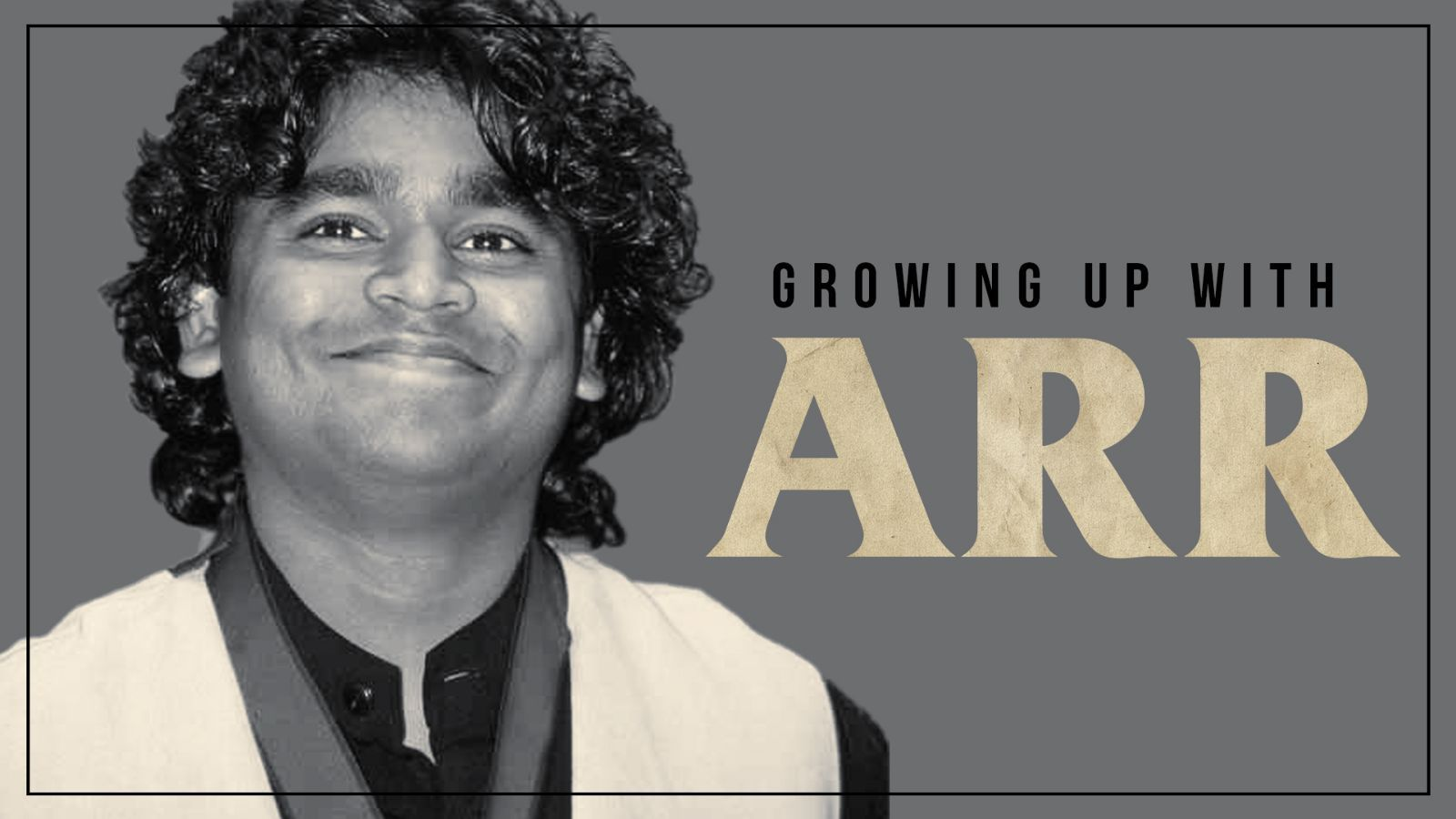 Growing up with ARR