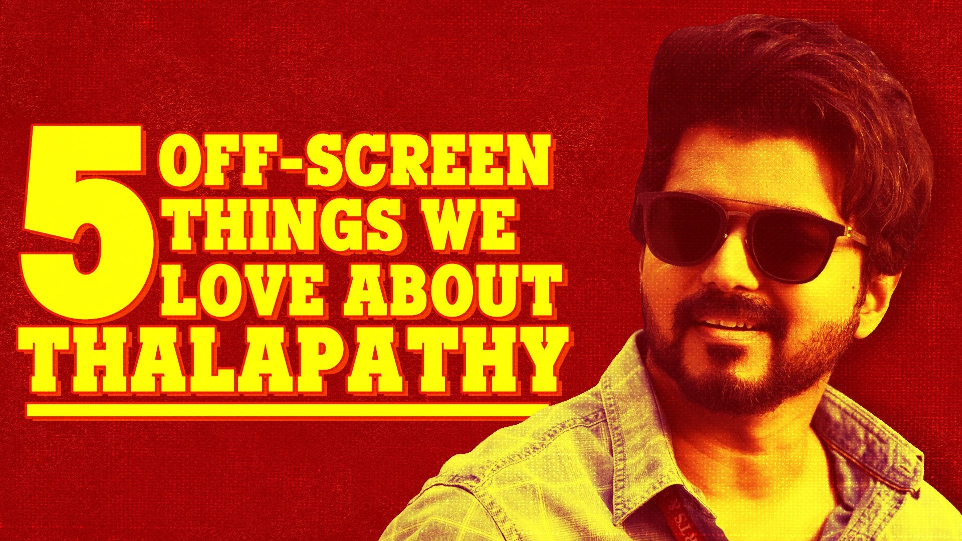 5 Off-screen things we love about Thalapathy