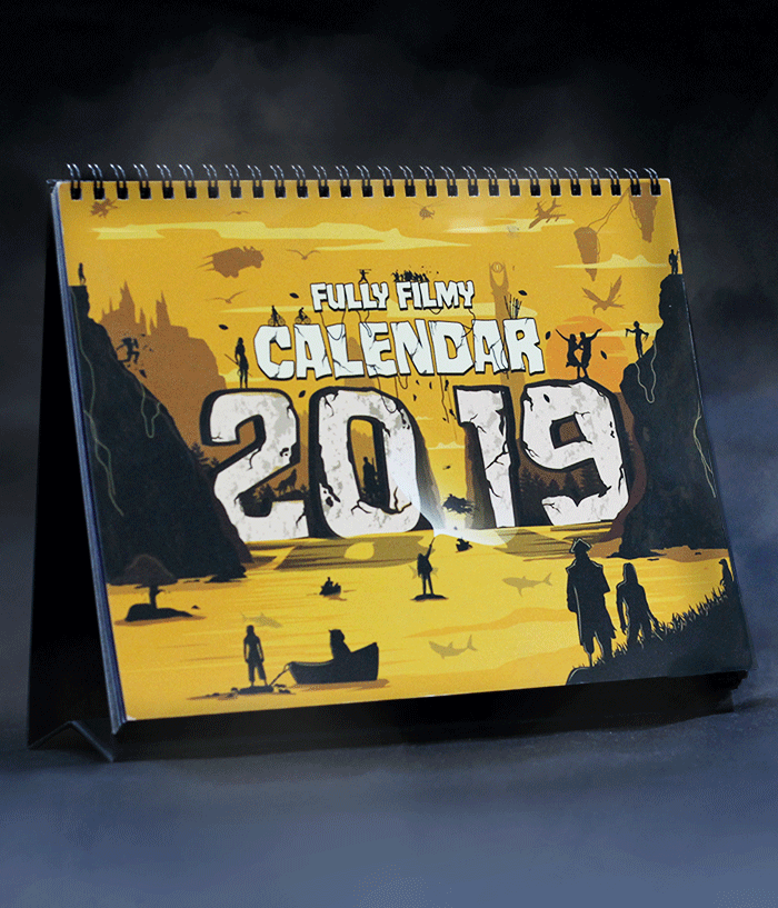 Fully Filmy Calendar 2019 (Velvet Finish) - fully-filmy
