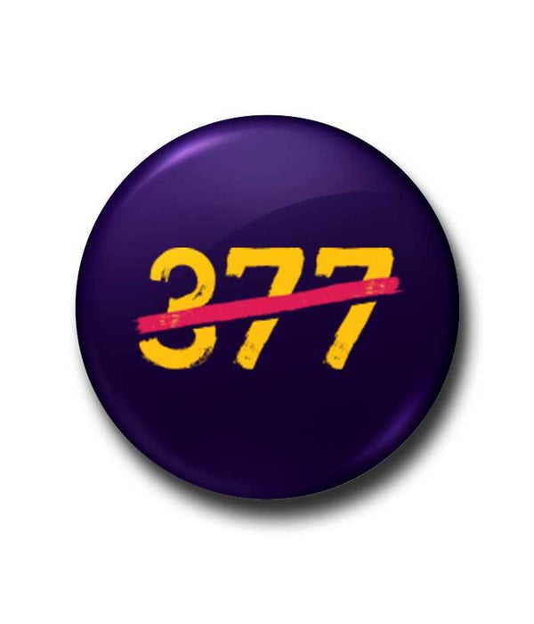 End Of Section 377 Badge