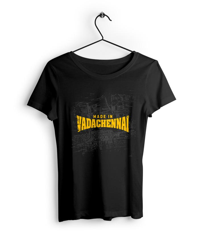 Made in Vadachennai - VadaChennai Official Women's T-Shirt - fully-filmy