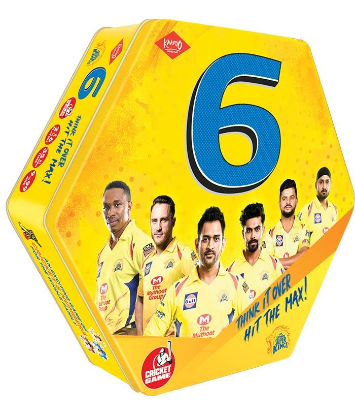 6-CSK-Cricket Boardgame - fully-filmy