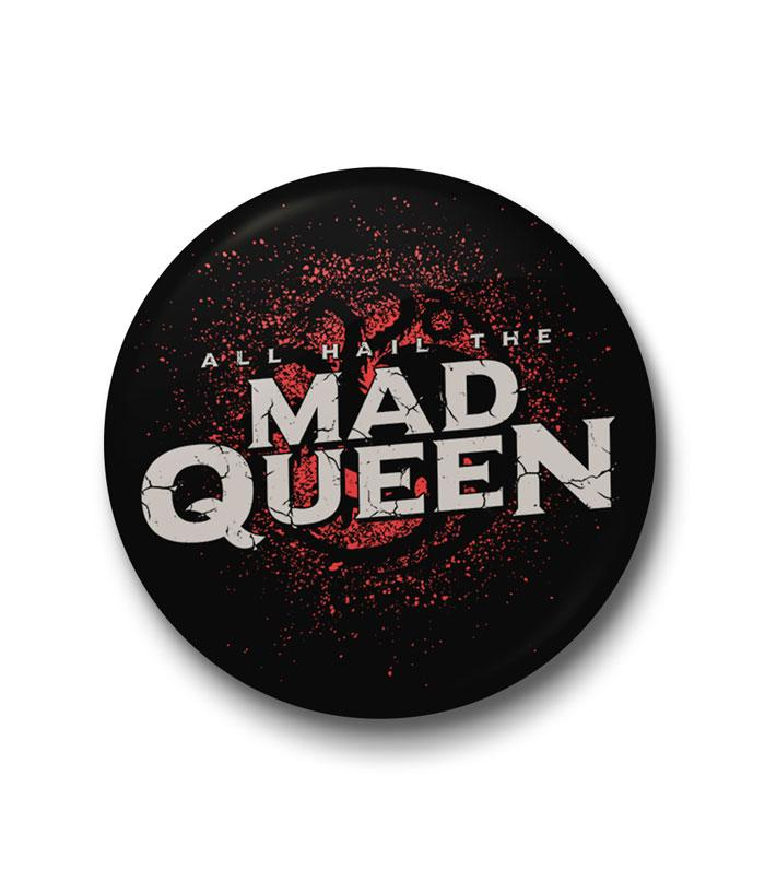 Mad Queen Badge - fully-filmy