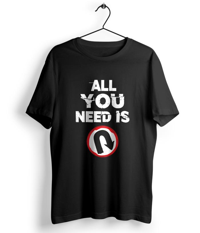 All You Need - U Turn Official T-Shirt - fully-filmy