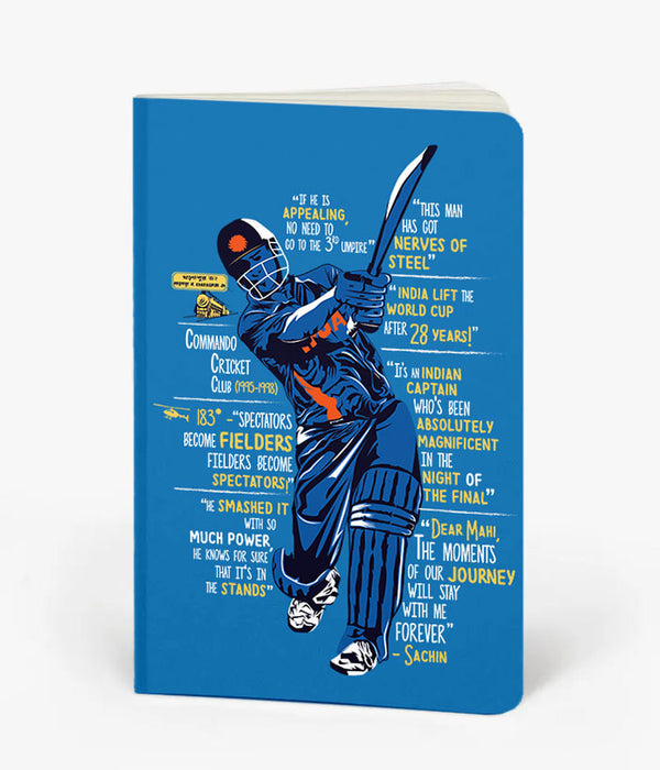 The Legend Of Dhoni Notebook