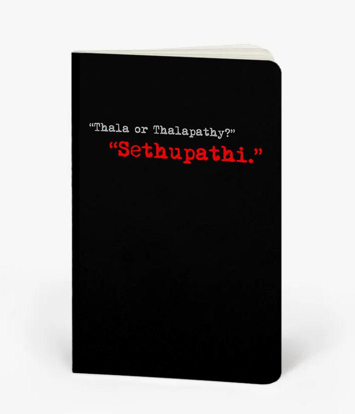 Sethupathi Fan Notebook