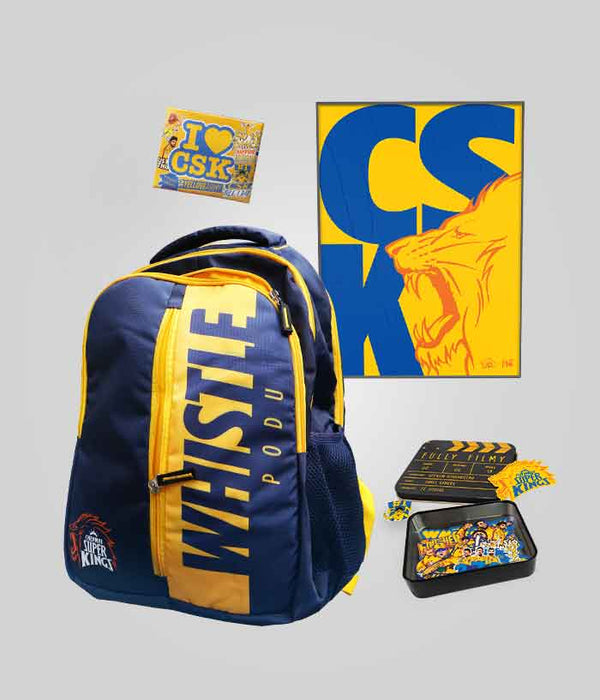 Chennai Super Kings Fan Pack