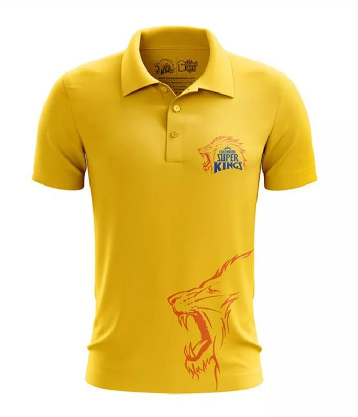 CSK Official Collared Jersey