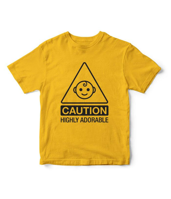 Caution Kids T-Shirt