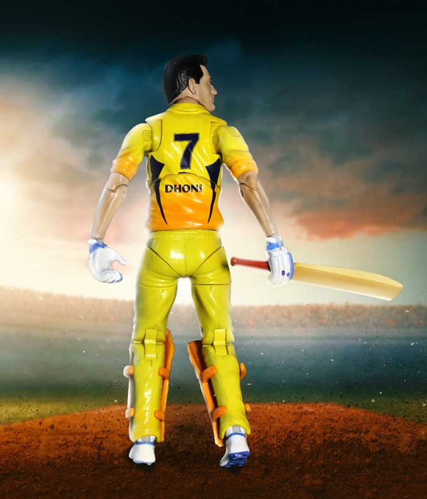 Dhoni Action Figure - CSK Official Merchandise - fully-filmy
