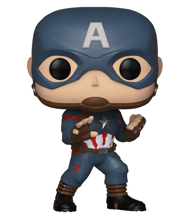 Captain America - Marvel: Avengers Endgame Funko Pop - fully-filmy