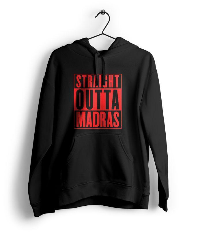 Straight Outta Madras Hoodie - fully-filmy