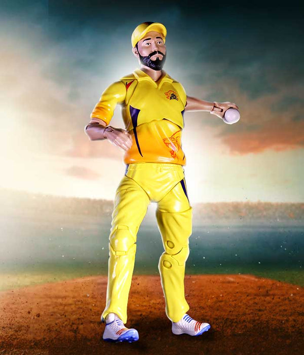 Jadeja Action Figure - CSK Official Merchandise - fully-filmy