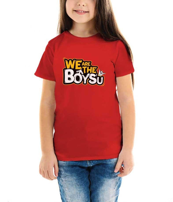 We Are The Boys'u Kids T-Shirt - Fully Filmy