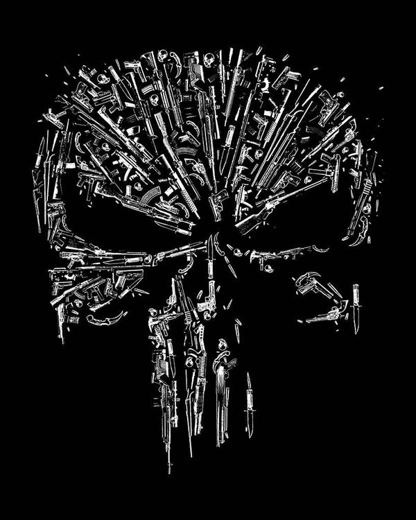 Guns And Skulls T-Shirt