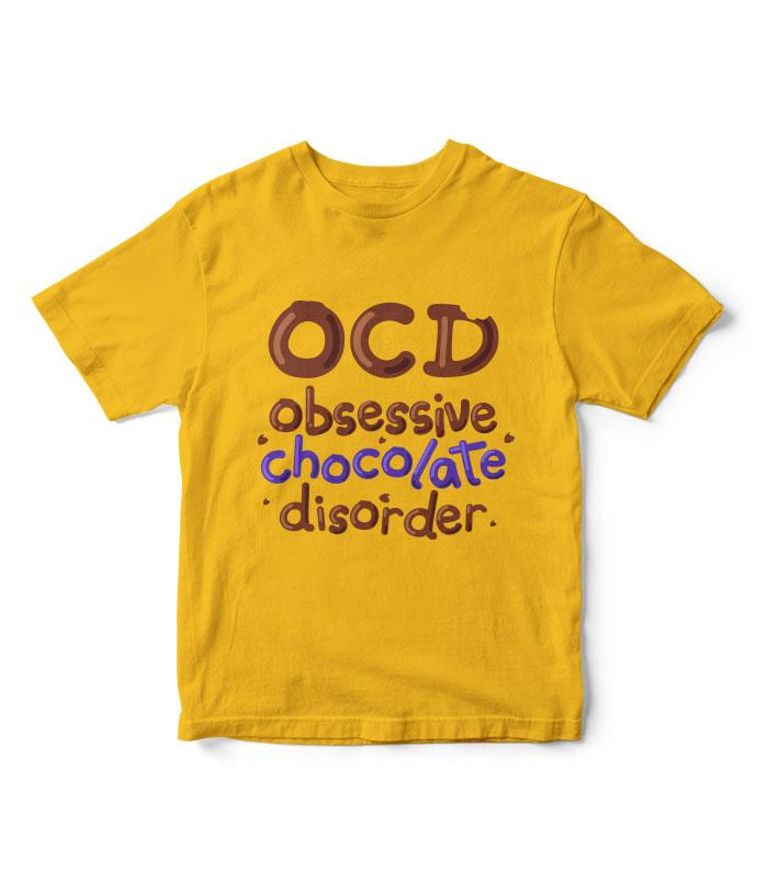 Obsessive Chocolate Disorder Kids T-Shirt - fully-filmy
