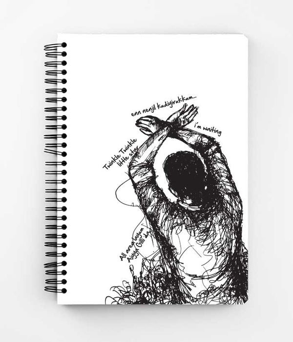 Rise Above Hate - Thalapathy Spiral Notebook - Fully Filmy