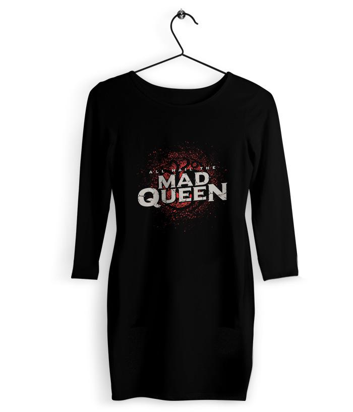 Mad Queen T-Shirt Dress - fully-filmy