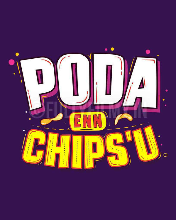 Poda Enn Chips'u T-shirt