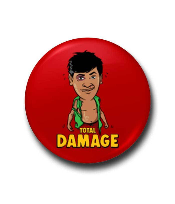 Total Damage - Vadivelu Tribute Badge
