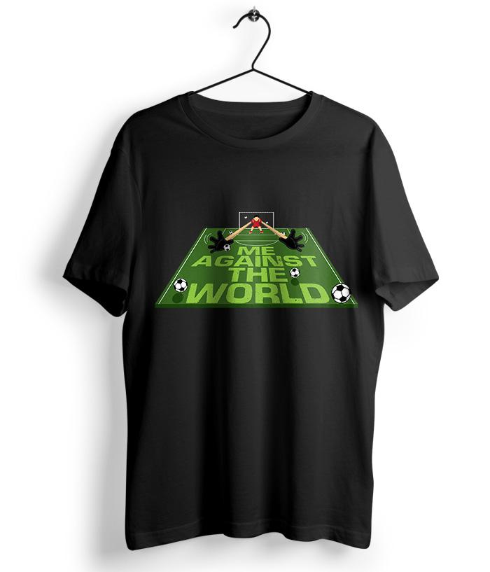 Against the world T-shirt - fully-filmy