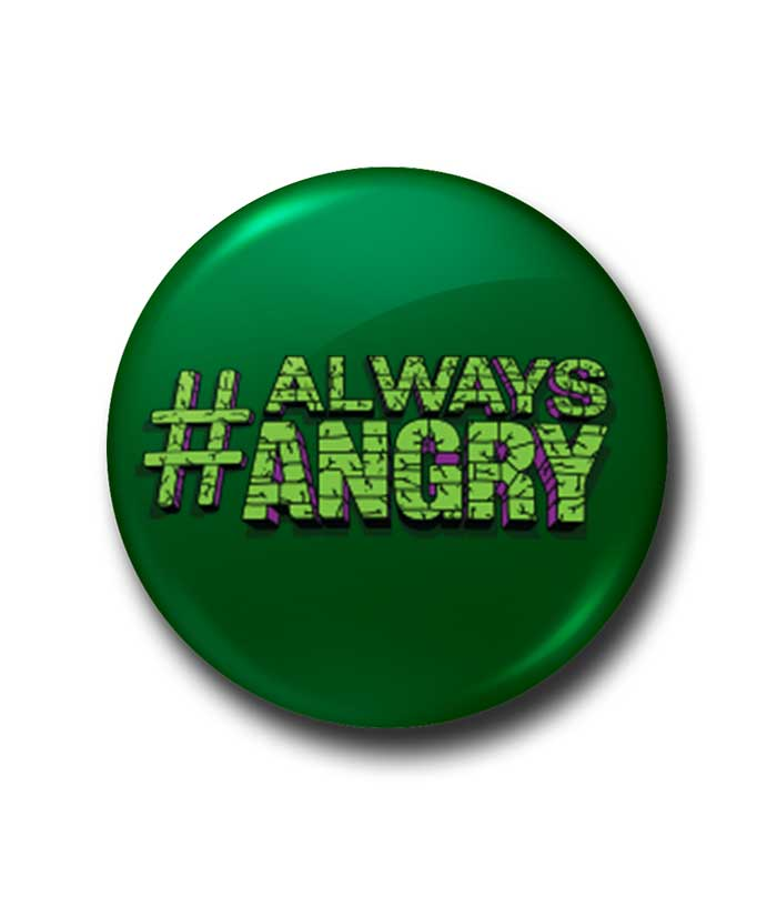 Always Angry Badge - fully-filmy