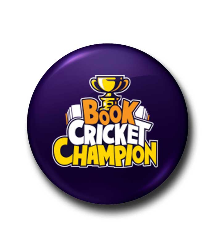 Book Cricket Champion Badge