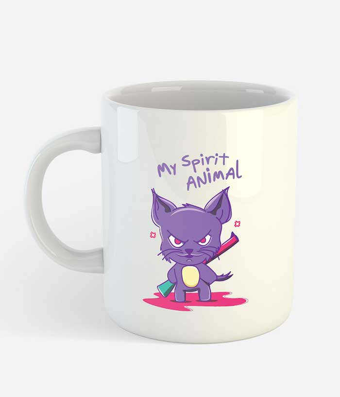 Evil Cat Mug - fully-filmy