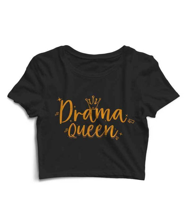 Drama Queen Crop Top - Fully Filmy