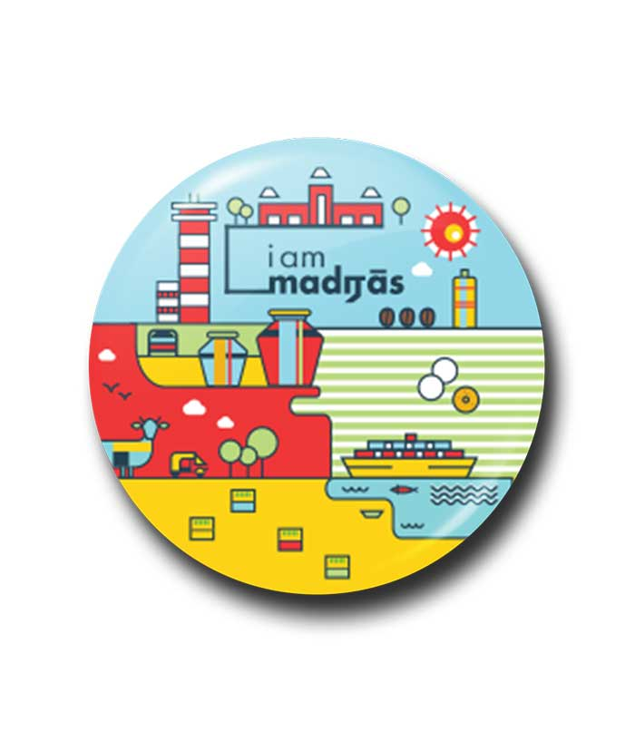 I am Madras - City Edition Badge - fully-filmy