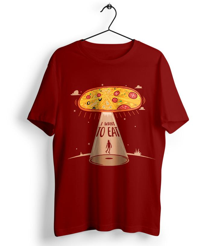 I Want To Eat T-Shirt - fully-filmy