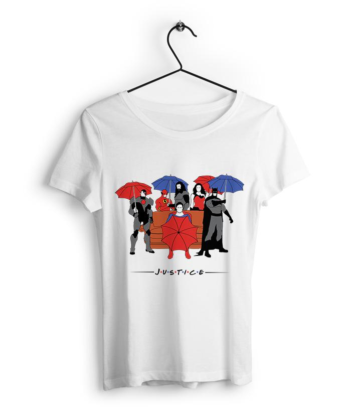 Justice Friends Women's T Shirt - fully-filmy