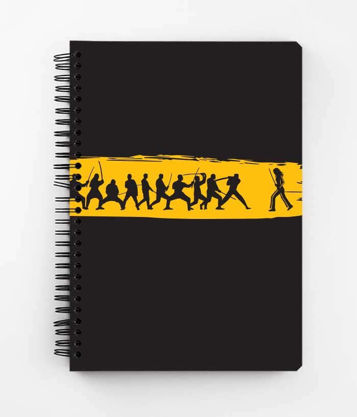 Kill Bill Vengeance Spiral Notebook - fully-filmy