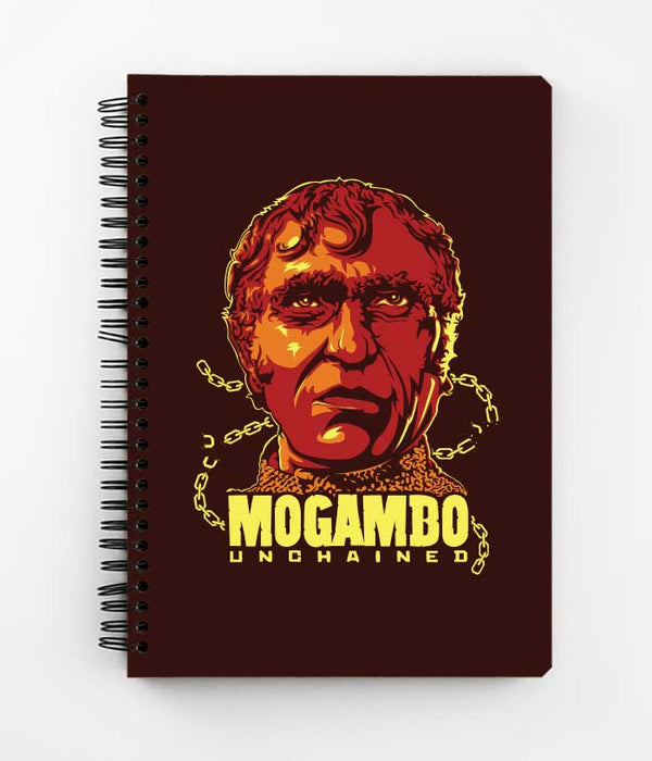 Mogambo Spiral Notebook - fully-filmy