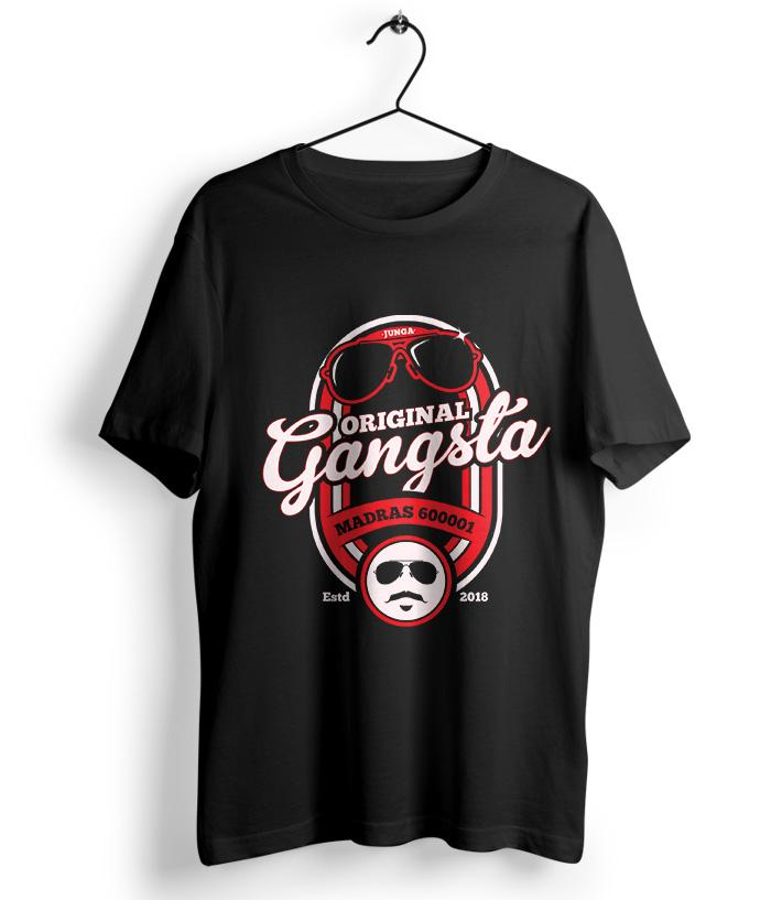 Original Gangsta - Junga Official T-Shirt - fully-filmy