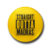 Straight Outta Madras Fridge Magnet - fully-filmy