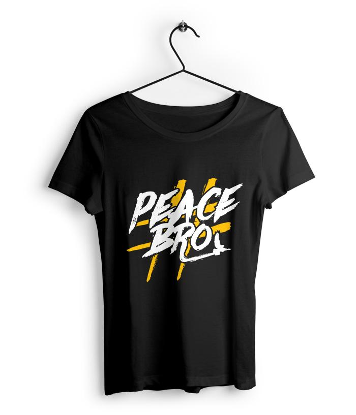 Peace Bro Women's T-Shirt - fully-filmy