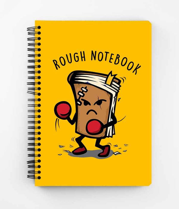 Rough Notebook Spiral Notebook - fully-filmy