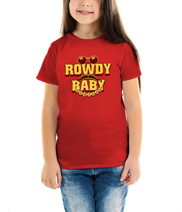 Rowdy Baby | Maari 2 Official Kids T-Shirt - Fully Filmy