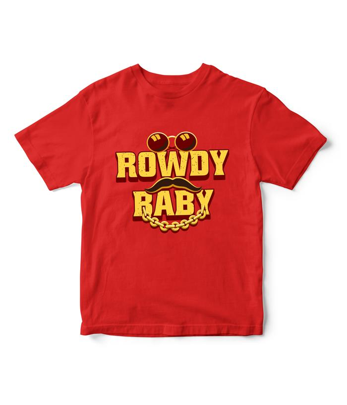Rowdy Baby | Maari 2 Official Kids T-Shirt - fully-filmy